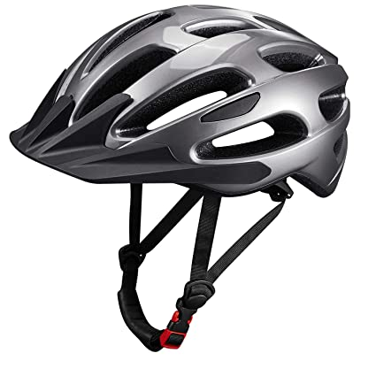 8bff825a6e184 KUYOU Adult Cycling Bike Helmet with Adjustable Ultralight Stable  Road/Mountain Bike Cycle Helmets for Mens Womens