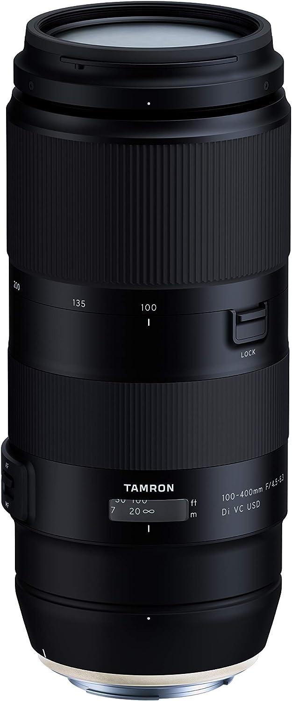 Tamron 100 400mm F 4 5 6 3 Di Vc Usd Objektiv Für Canon Kamera