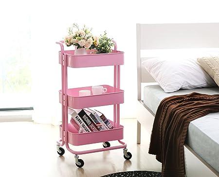 hollyhome carrito carro de utilidad accesorio de: Amazon.es: Oficina y papelería