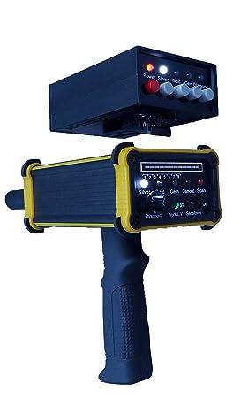 Detector de oro negro Hawk GR-100 detector de largo alcance Rey oro Gem oro detector de metales ...