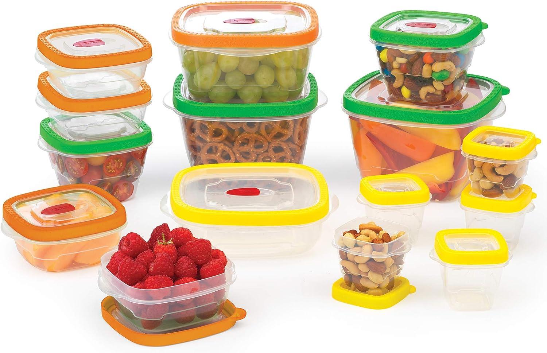 Goodcook Flex Trim Food Storage Set, Assorted, Clear