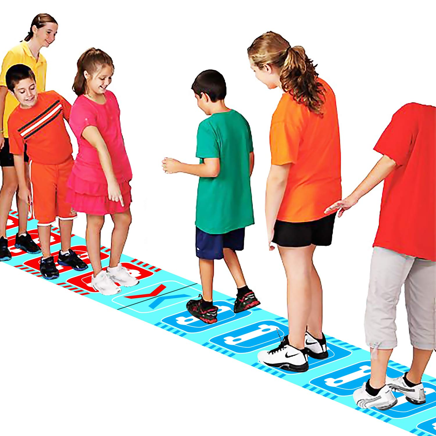KINDEN Traffic Jam Group Games Team Challenge Class Training Course Puzzle Game for Field Day Carnival by KINDEN