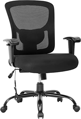 Big and Tall Office Chair 400lbs Cheap Desk Chair Mesh Computer Chair