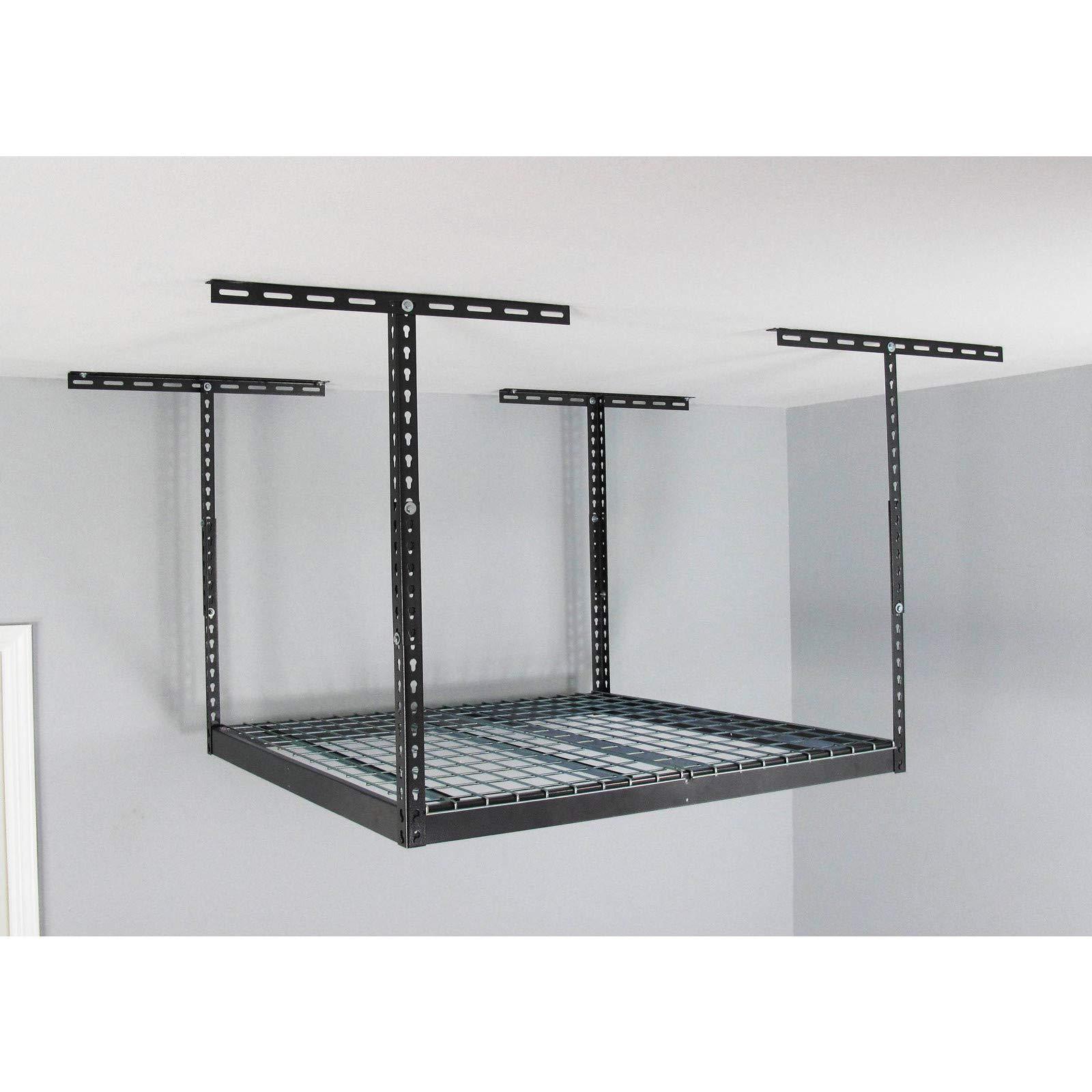 MonsterRax - 4x4 Overhead Garage Storage Rack (12''-21'')