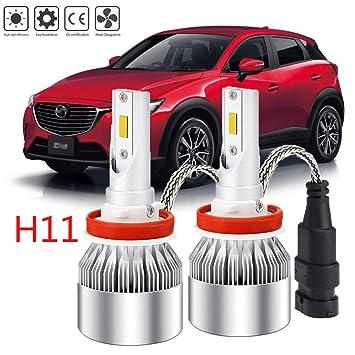 Bombillas LED H11 para faros delanteros para Chevrolet, los años de coche enumerados a continuación, los años correspondientes a la compra: Amazon.es: Coche ...
