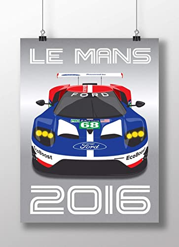 Ford Gt Le Mans Print