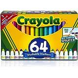 Crayola Washable Markers, Broad Line, 64 ct.