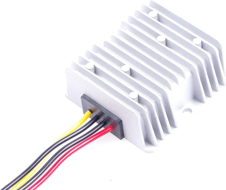 to 5V 5A 25W Step-Down Voltage Transformer Volt Regulator Power Supply Inverter Module Waterproof KNACRO DC-DC Buck Converter 12V 24V 8-40V