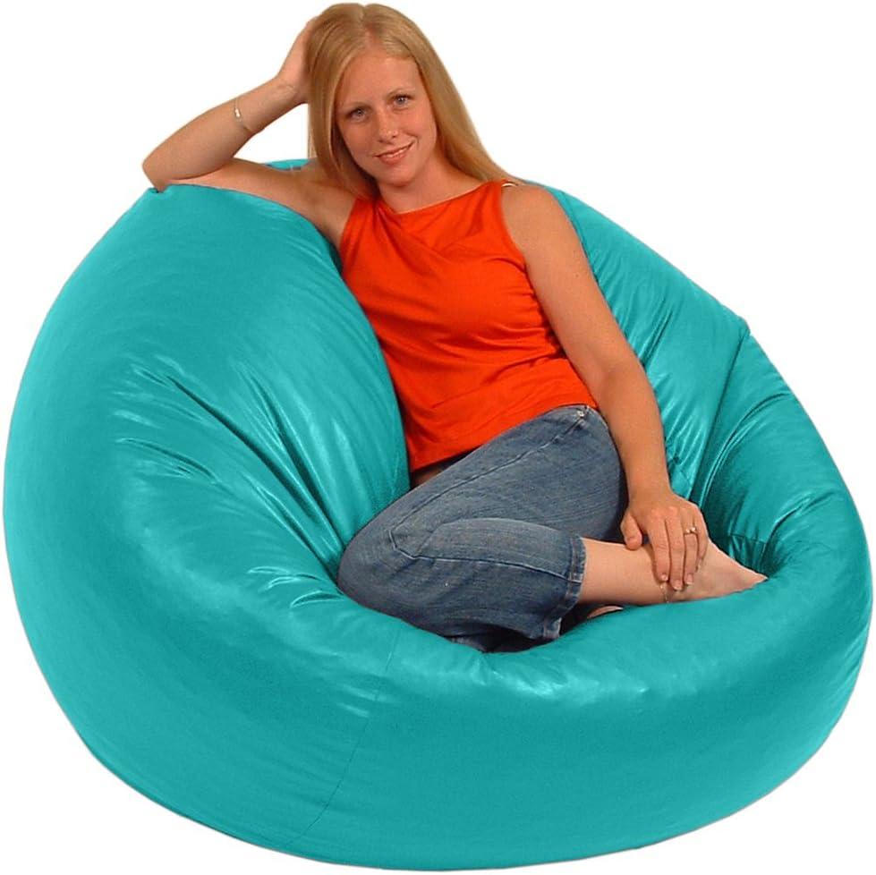 Comfy Bean Beanbag Large Vinyl Aqua