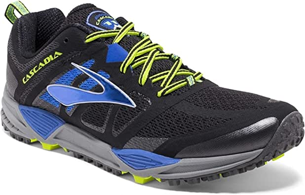 Brooks Cascadia 11 - Zapatillas de trail running para hombre, color Negro, talla 42 EU: Amazon.es: Zapatos y complementos