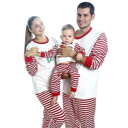 Pijamas de Navidad para al familia. Ropa navideña para padres e hijo de Bombayb.