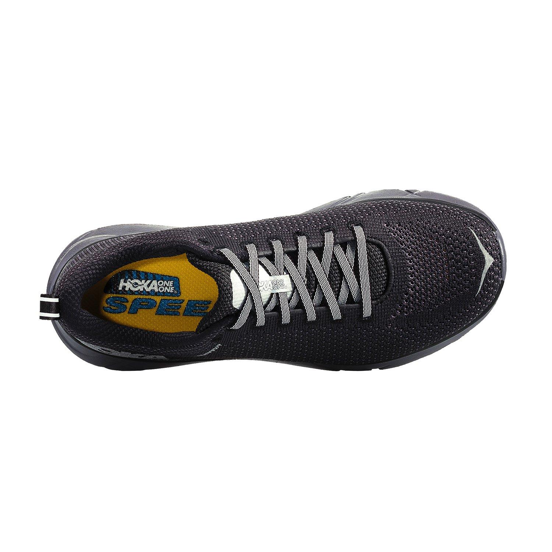 TALLA 44 2/3 EU. hoka Zapatillas de Running de Material Sintético para Hombre Negro