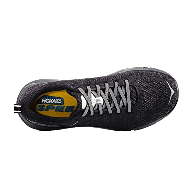 the latest e7e50 ac16c HOKA ONE ONE Hoka One M Hupana 2 Black/Blackened Pearl Running Shoes
