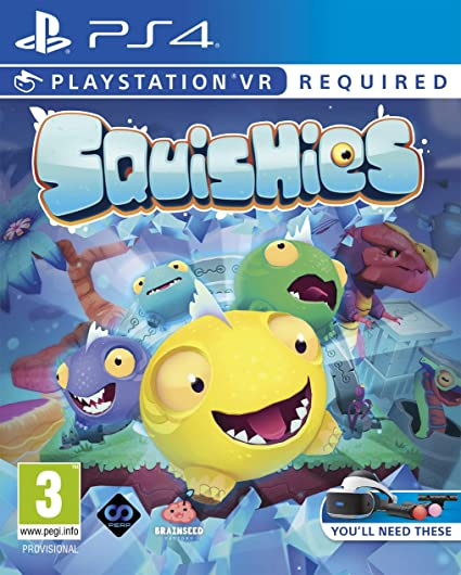 Squishies PS4 Game PSVR (PSVR Required) [Importación inglesa ...