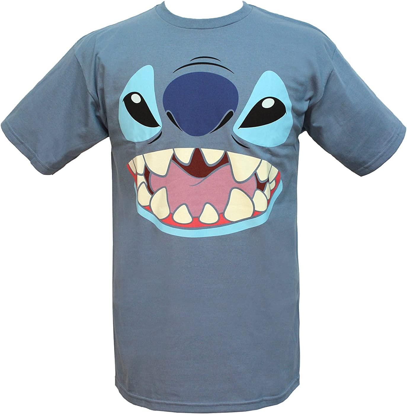 Disney Lilo y Stitch Big Face Disfraz Camiseta: Amazon.es: Ropa y ...