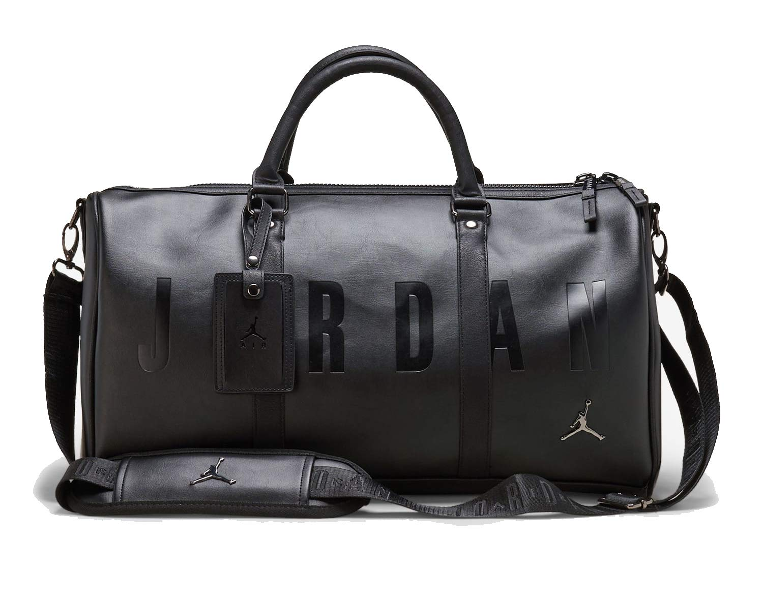 Nike Air Jordan Jumpman Duffle Bag (One Size, Black)