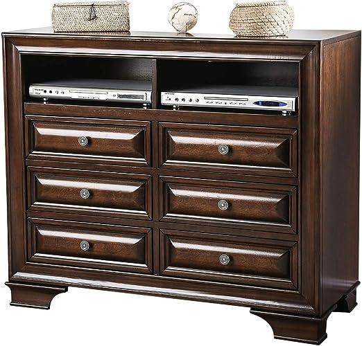 Muebles de América - Baúl para televisión (Madera de Cerezo), Color marrón: Amazon.es: Juguetes y juegos