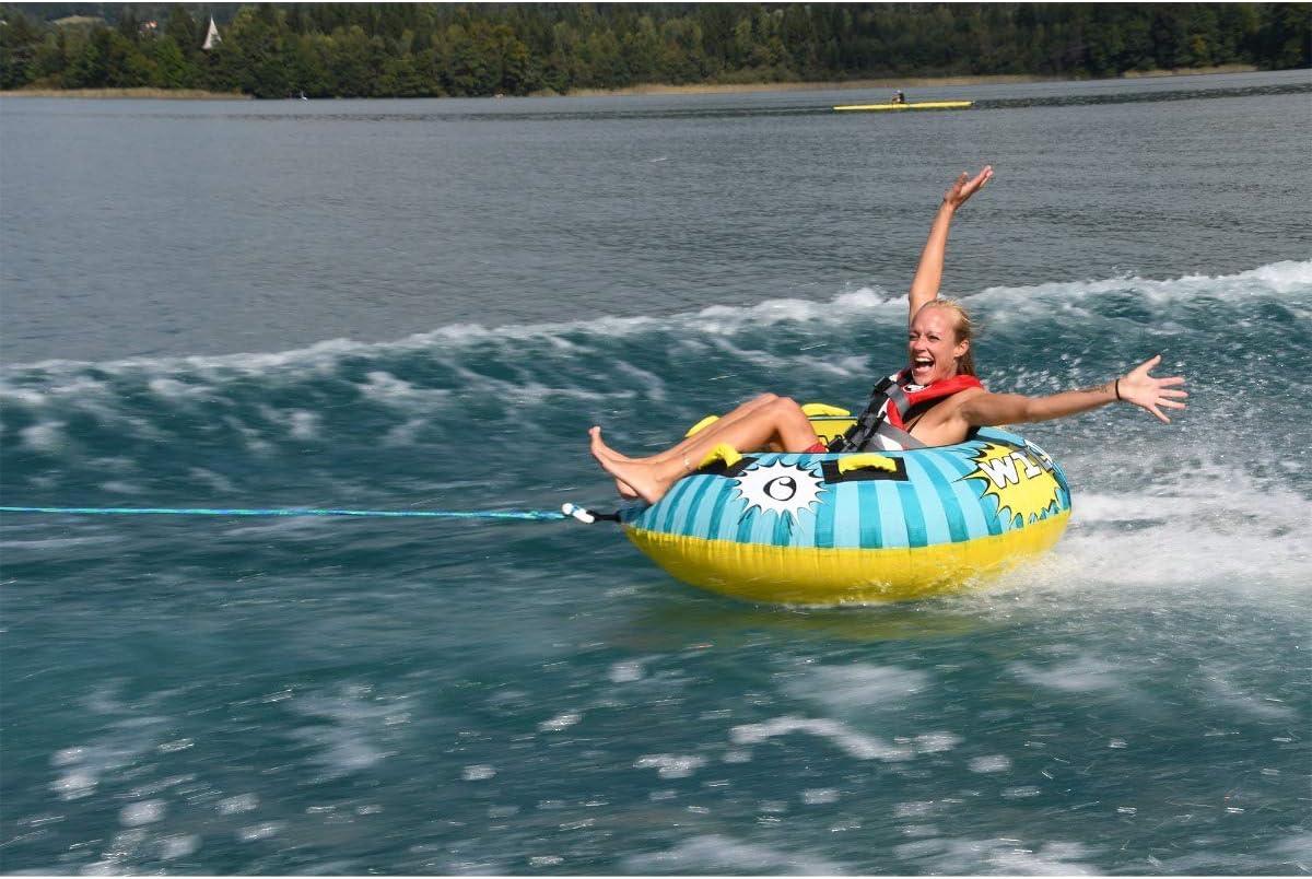 SPINERA Wild Bob -Tube Wasserring Towable f/ür 1 Person Wasserreifen