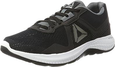 Reebok Astroride Duo Edge, Zapatillas de Running para Hombre, Negro (Black/Alloy/White), 41 EU: Amazon.es: Zapatos y complementos