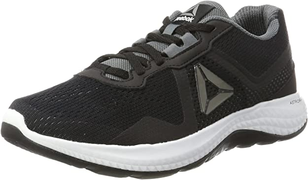 Reebok Astroride Duo Edge, Zapatillas de Running para Hombre, Negro (Black/Alloy/White), 41 EU: Amazon.es: Zapatos y complementos