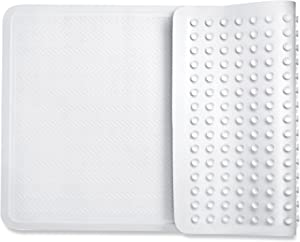 Bath mats Non Slip Shower mats, with Powerful Gripping Technology Fits Any Size Bath Tub BPA-Free