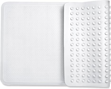 mit Leistungsstark greifen Technologie passt jeder Gr/ö/ße Badewanne BPA frei Saganizer Bad-Teppiche hoher Qualit/ät rutschfeste Dusche Matten