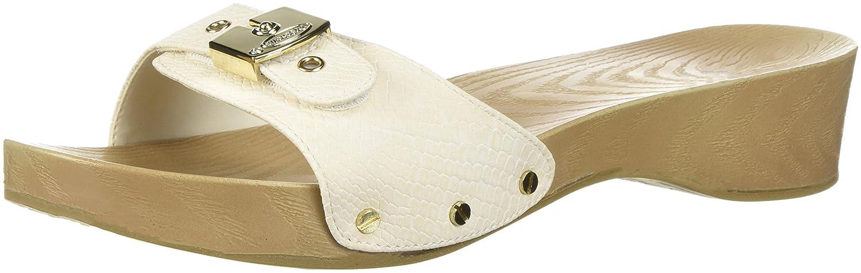 Dr. Scholl's Shoes Women's Classic Slide Sandal B0767TTFR2 7 B(M) US|Gardenia Snake Print