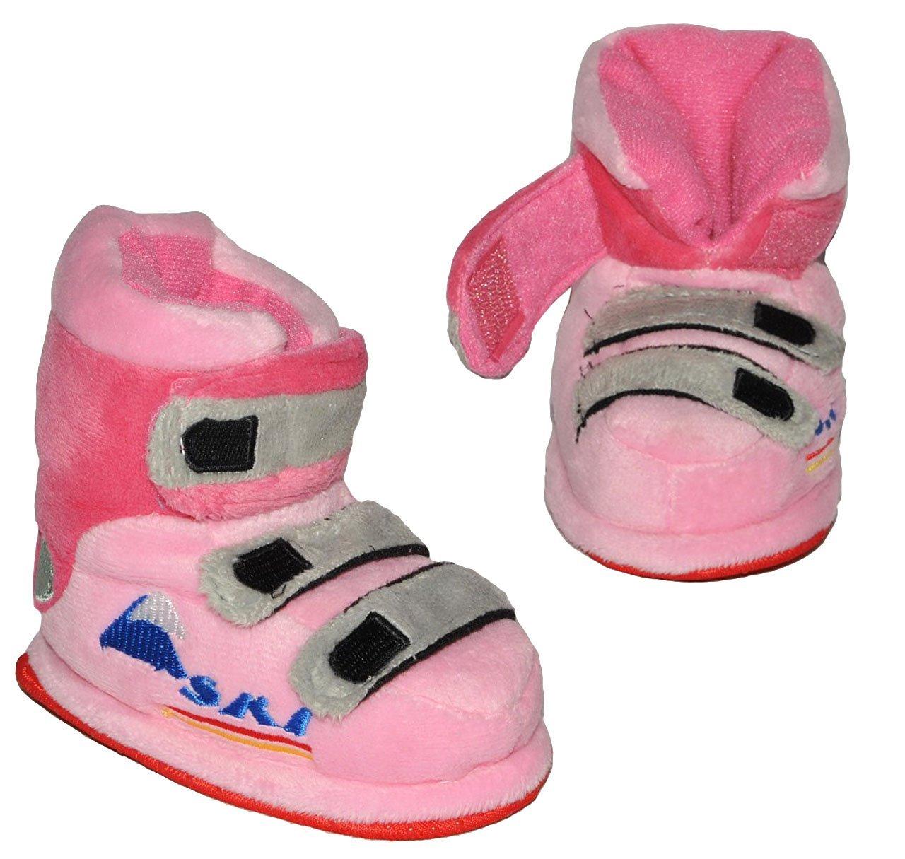 Circa Baby 6-12 Monate SUPERWARM als rosa Skischuhe Gr Unbekannt Hausschuhe 19-20 gef/ütterte Pl/üschhausschuhe // Boots // Hausstiefel // Hausschuh Stiefel war..