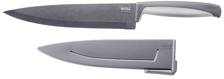 Woll M020 Kochmesser 20 Cm Mit Klingenschutz Amazon De Kuche
