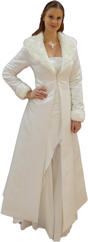 Brautmantel / Hochzeitsmantel / Mantel zum Brautkleid aus Satin