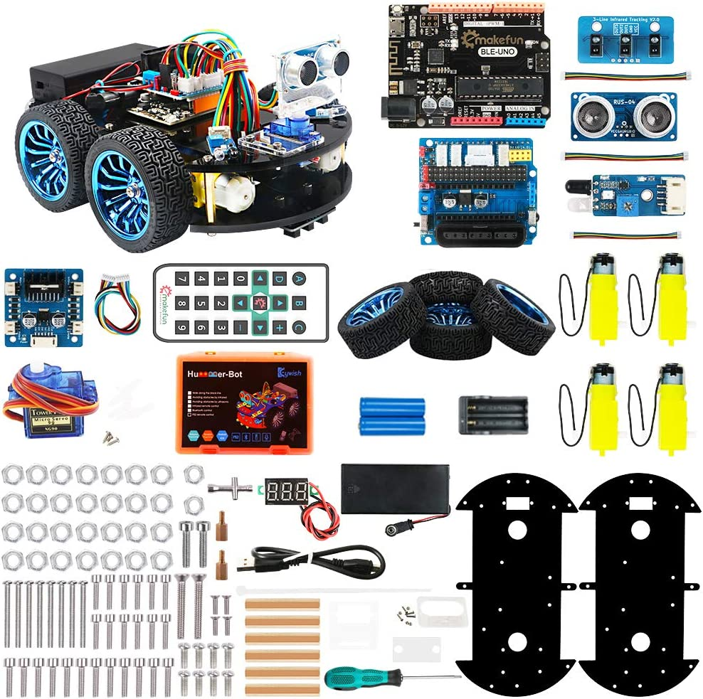 4WD Wireless WiFi Video Smart Robot Car Kit Support Programming//Bluetooth 4.0 Free reassembly Robot Car