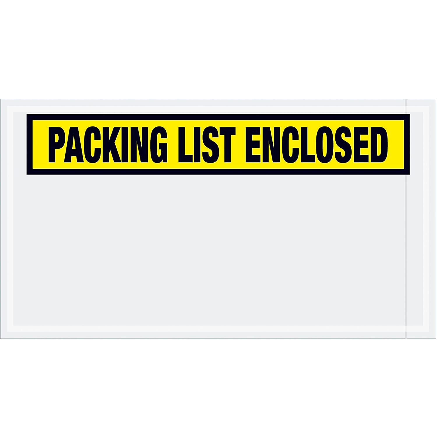 Pack of 1000 Orange 5 1//2 x 10 Top Pack Supply Tape LogicPacking List Enclosed Envelopes