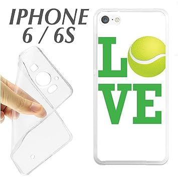 J348 IPHONE 6 6S CARCASA FUNDA TPU PELOTA TENIS BOLA PADEL LOVE DEPORTE: Amazon.es: Electrónica