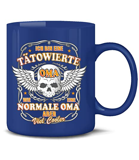 Im A Tattoo Oma As A Normal Oma But Much Cooler Coffee Mug