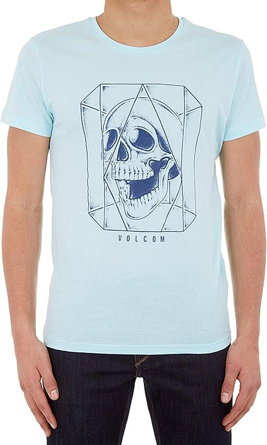 Volcom Ghost Lightweight Turquesa – Camiseta: Amazon.es: Ropa y accesorios