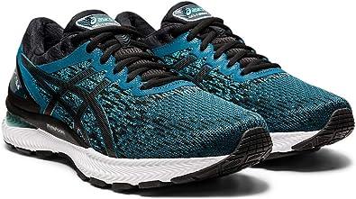 ASICS Gel-Nimbus 22 Zapatillas de correr para hombre, Azul (Magnético Azul/ Negro), 42 EU: Amazon.es: Zapatos y complementos