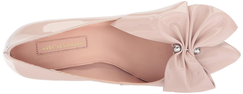 Avec Les Filles Women's Charlotte Pump B078JLYMWL 5.5 B(M) US|Avec Pink
