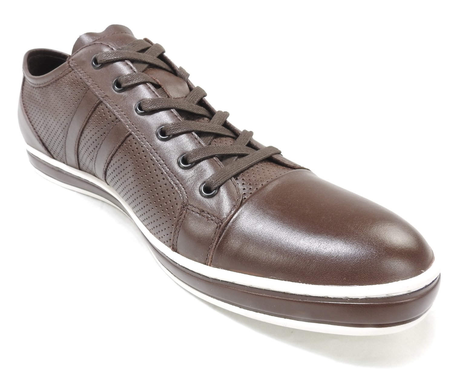 Kenneth Cole Mens Size 10 Sneakers, Brown