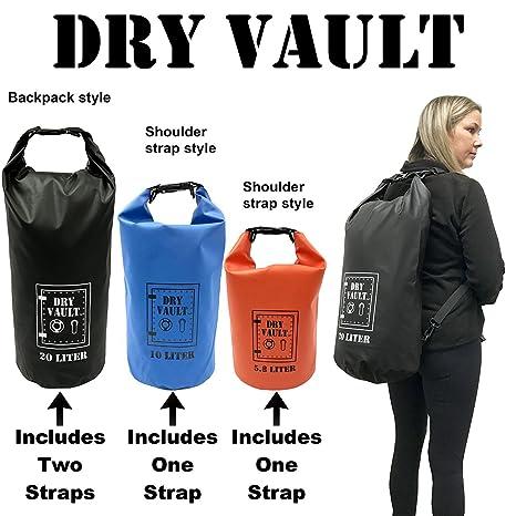 c3f0c6ec9e1e Amazon.com   3 Bag Set - DRY VAULT - DRY BAG SETS - 500D PVC ...