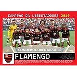 Pôster A4 - Flamengo Campeão Copa Libertadores - 2019