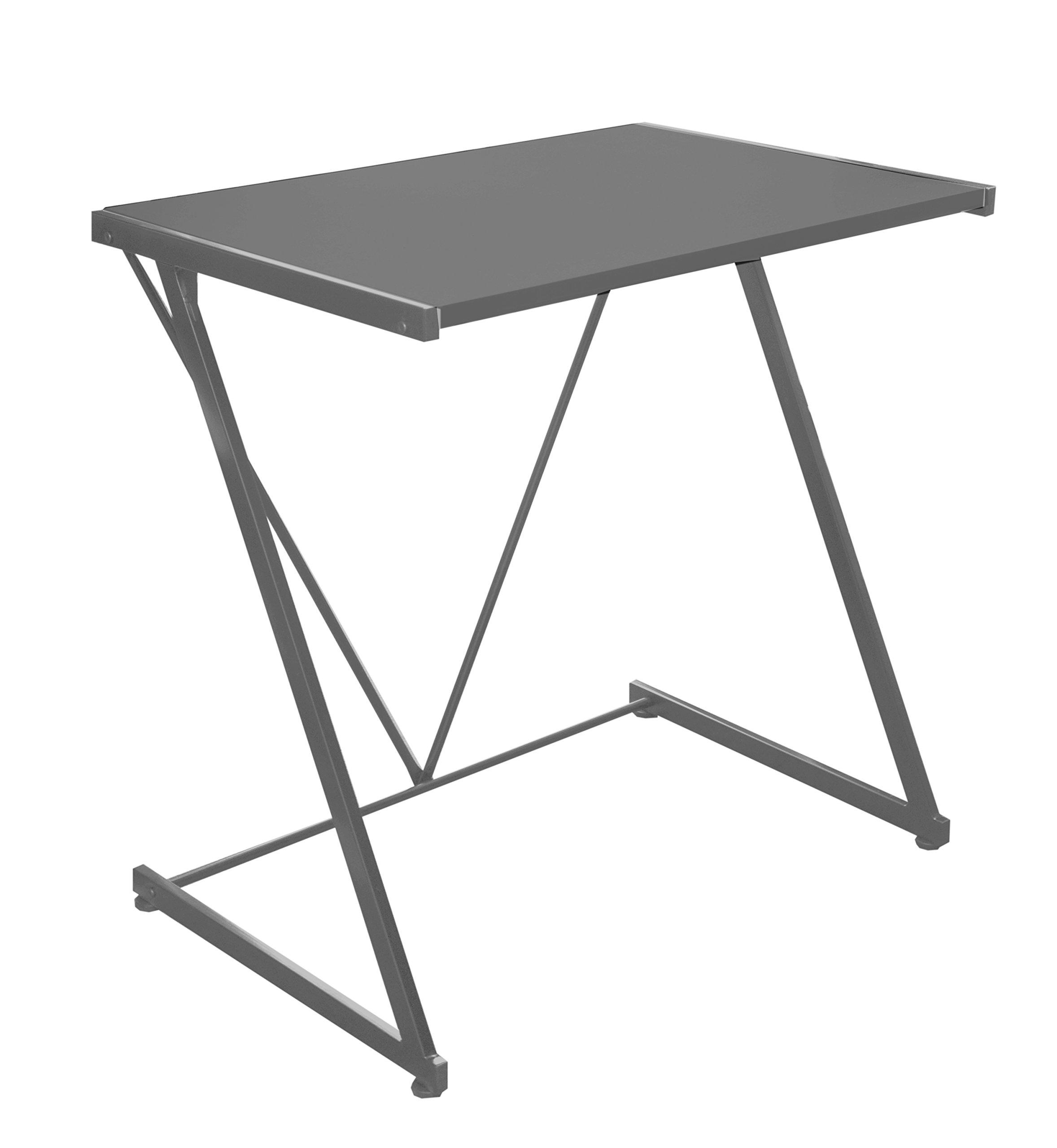 Urban Shop Student Z-Desk, Silver