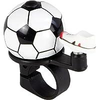 FISCHER Fietsbel kindervoetbal | fietsbel kinderen jongens | stuurmontage