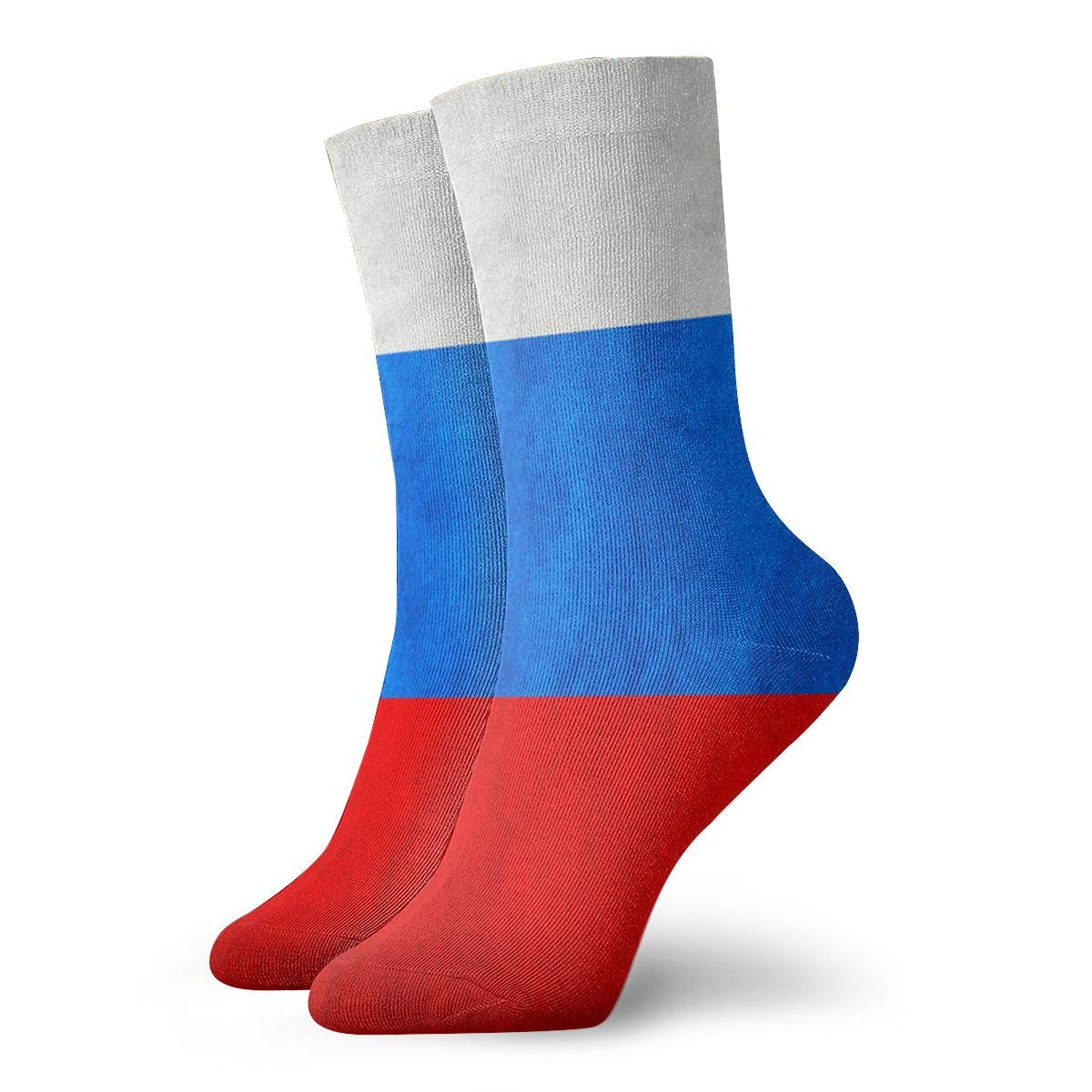 SESY Russia Retro Flag Unisex Crew Socks Short Sports Stocking