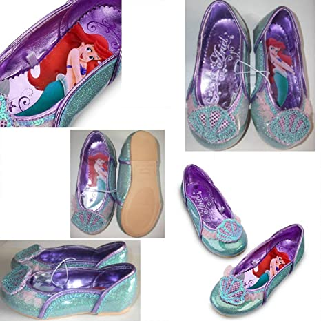 d66676947e316a Disney Ariel Little Mermaid Shoes For Toddler Girls Size 7   8  Amazon.ca   generic