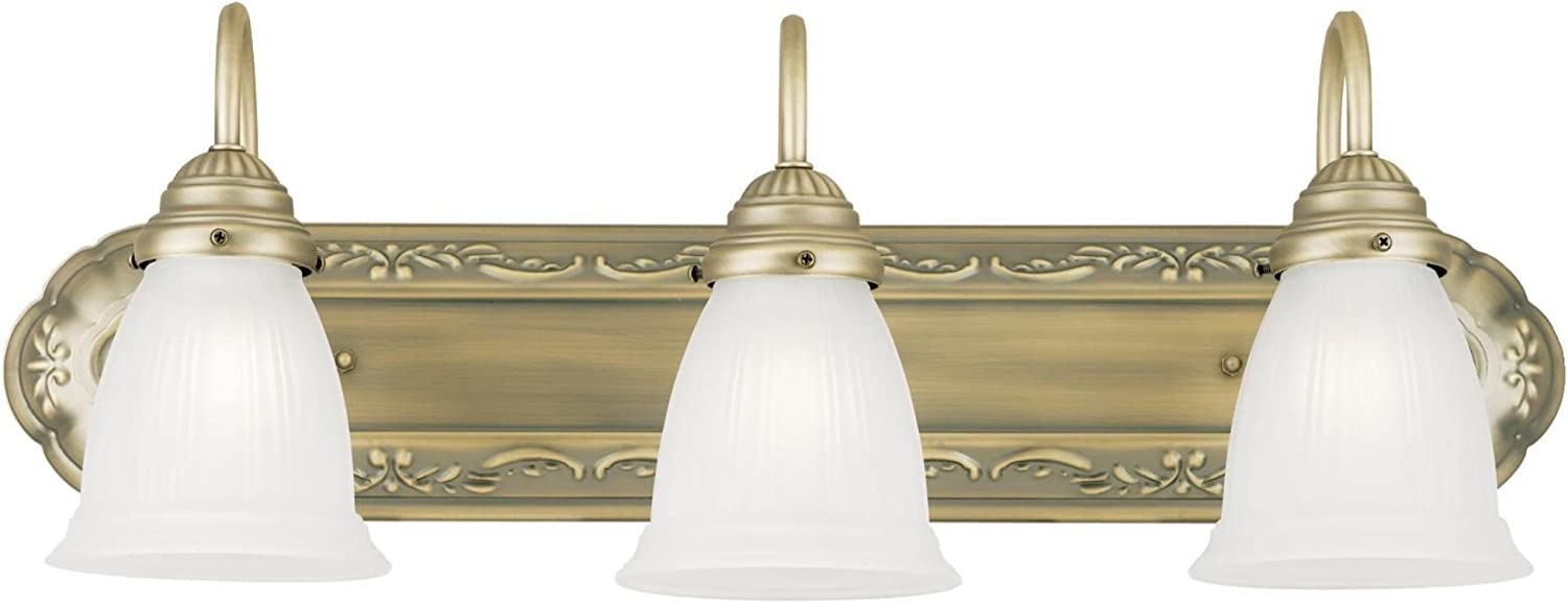 CANARM IVL628A04BN LTD Larken 4 Vanity Light, Brushed Nickel with Clear Glass