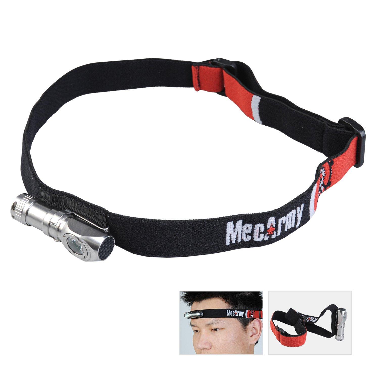 MecArmy FM11 CREE XP-G2 130 Lumens Multifunctional Magnetic Stainless Steel Angle Flashlight, Headlamp