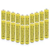 QBLPOWER 1.2v AAA NiCd 600mAh Triple A Rechargeable Battery Cell for Solar Lights Garden Lamp