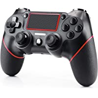 Imponigic PS4 Controller Wireless Controller for Playstation 4 Dual Vibration Shock Joystick Gamepad for PS4/PS4 Slim/PS4 Pro, Red
