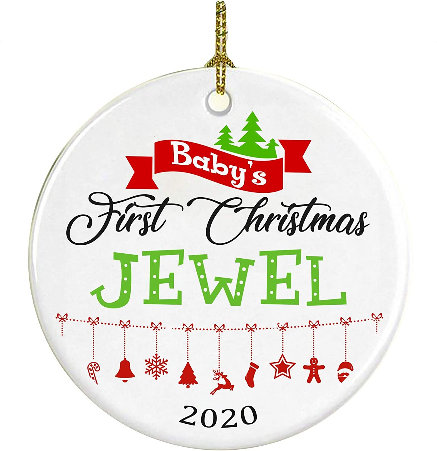 Is Jewel Open On Christmas 2020 Amazon.com: Christmas Tree Ornament Decoration Baby First