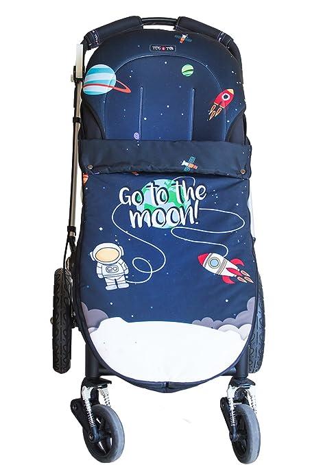 Tris&Ton Sacon convert 2 en 1 silla de paseo para bebe modelo Space, saco funda